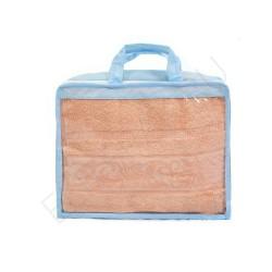 Упаковка для полотенец и покрывал из спанбонда и ПВХ