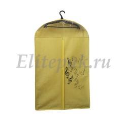 Чехол для одежды с окошком и логотипом