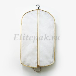 Чехол объемный для одежды с боковым окошком